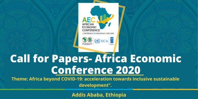 OPPORTUNITY | Call for Papers – African Economic Conference 2020