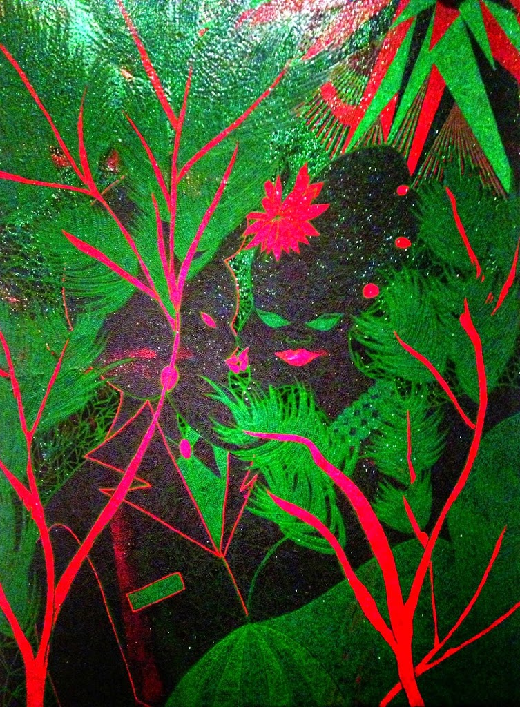 Must see Chris Ofili exhibit in NYC  African Prints in