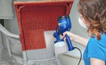 spraying using sprayer