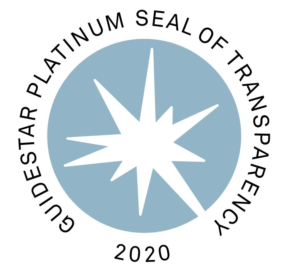 BWA guidestar platinum seal of transparency