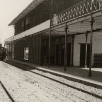 La gare de Djibouti dans les années 20 / Djibouti railways station in the 1920's