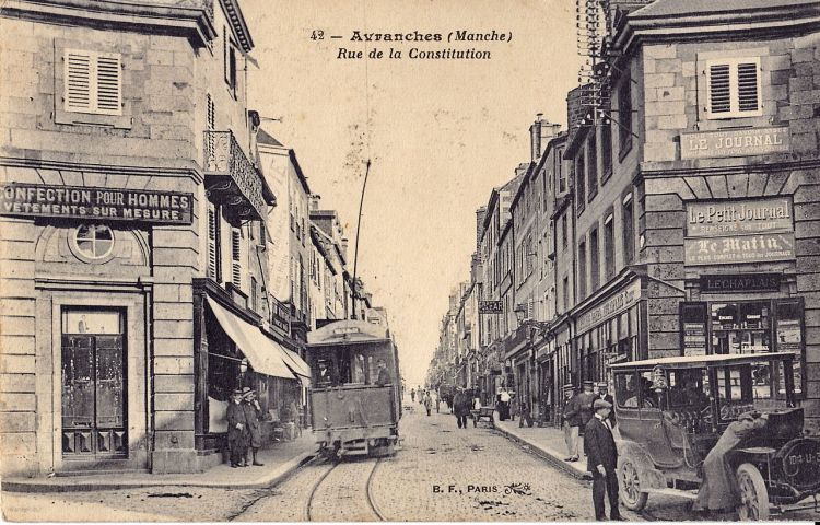 tramway Avranches