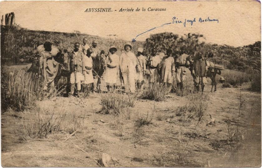CP Abyssinie Arrivée de la Caravane 02 recto