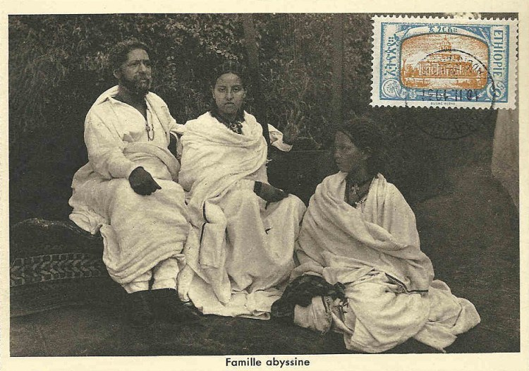 Famille abyssine