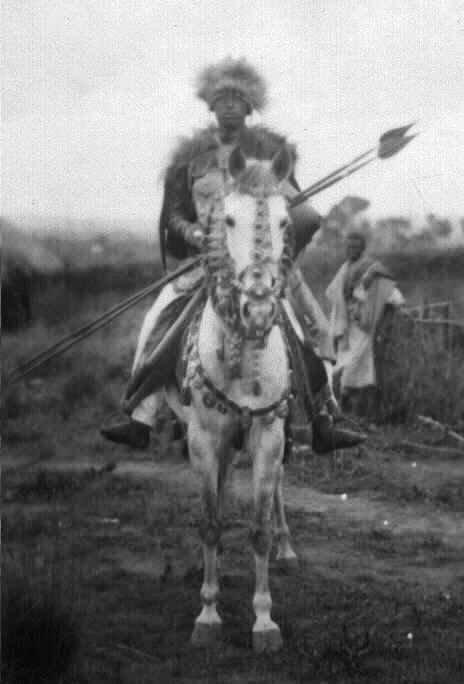 Iyasu Warrior on Horseback (1)