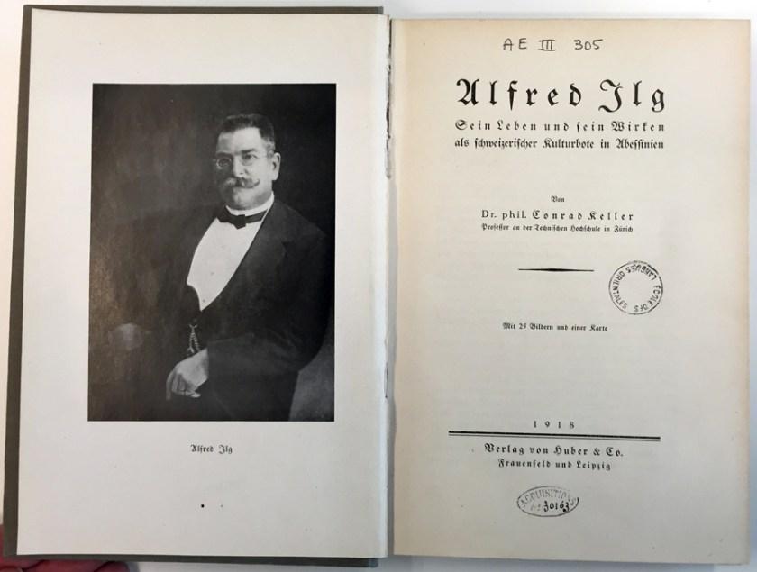 Alfred Ilg Keller