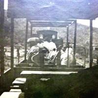 Michel Bourgeat 1912 - Un voyageur sur la ligne