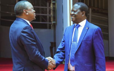 Kenyatta-Raila Famous Handshake Will Only Bring Real Change To Kenya If Promises Are Followed By Action