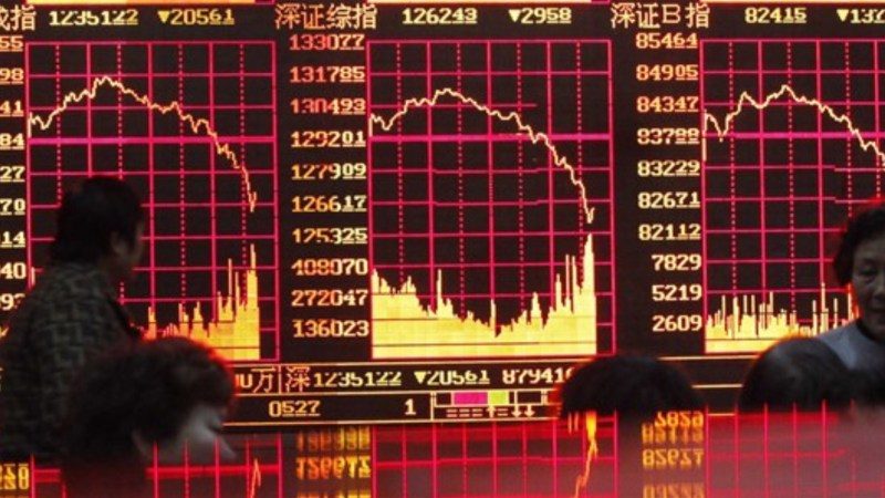 Shanghai Stock Exchange Nose Dives, Dragging Down Other Asian Giants