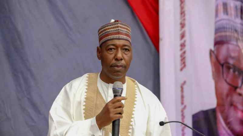 Zulum Reviews Book Launch With Senate President, Principal Officers In Attendance
