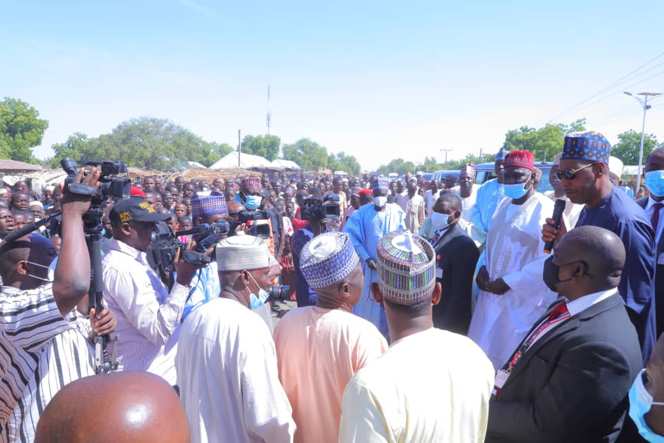 Friday abductions: Army's Failure to Secure 20 Km Baffles Zulum …Visits Jakana