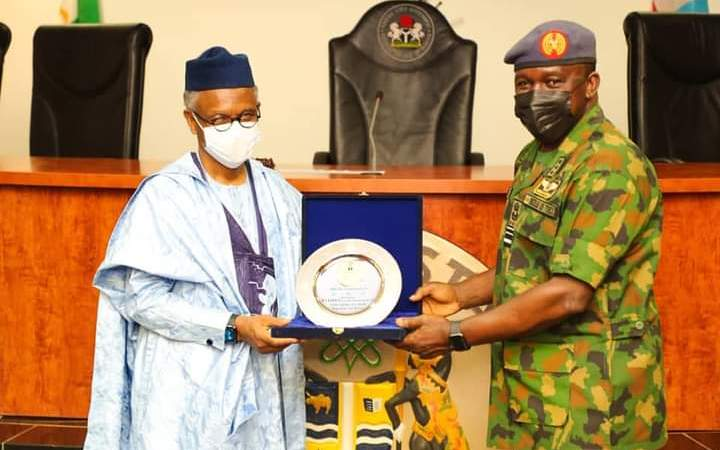 Chief of Air Staff On Operational Tour, Assures El-rufai Of Combating Banditry