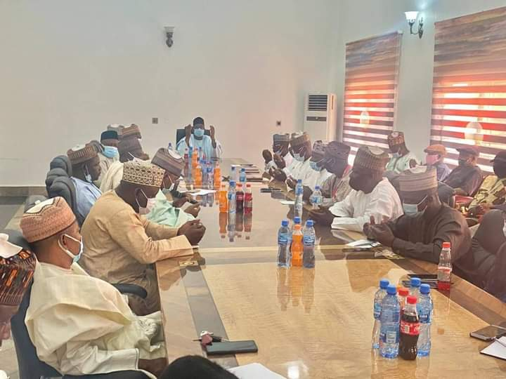 Gov. Bala, Labour Meet ..Set Up Committee On Payment of Salaries