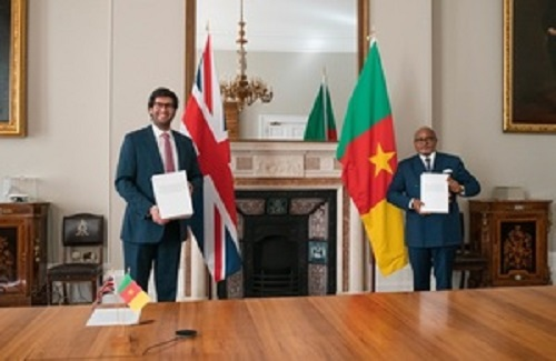 United Kingdom Signs Economic Partnership With Cameroon