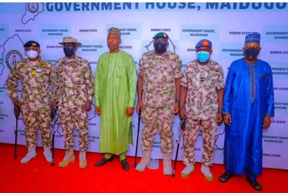 Boko Haram: Zulum Salutes Military, Lists Gains by Troops in Gwoza, Northern Borno