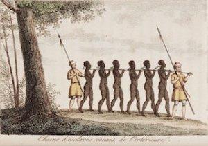 Un sito sull'olocausto africano