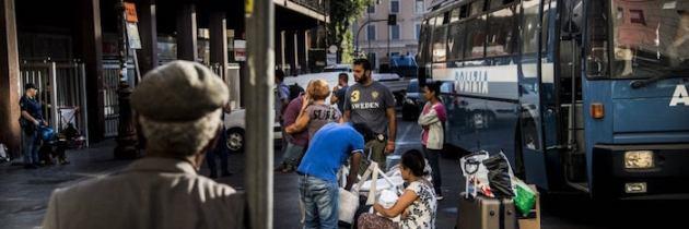 Lo sgombero di Roma, una vergogna italiana