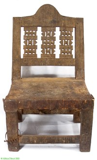 Asante Chief's Chair/Throne Ghana African | eBay