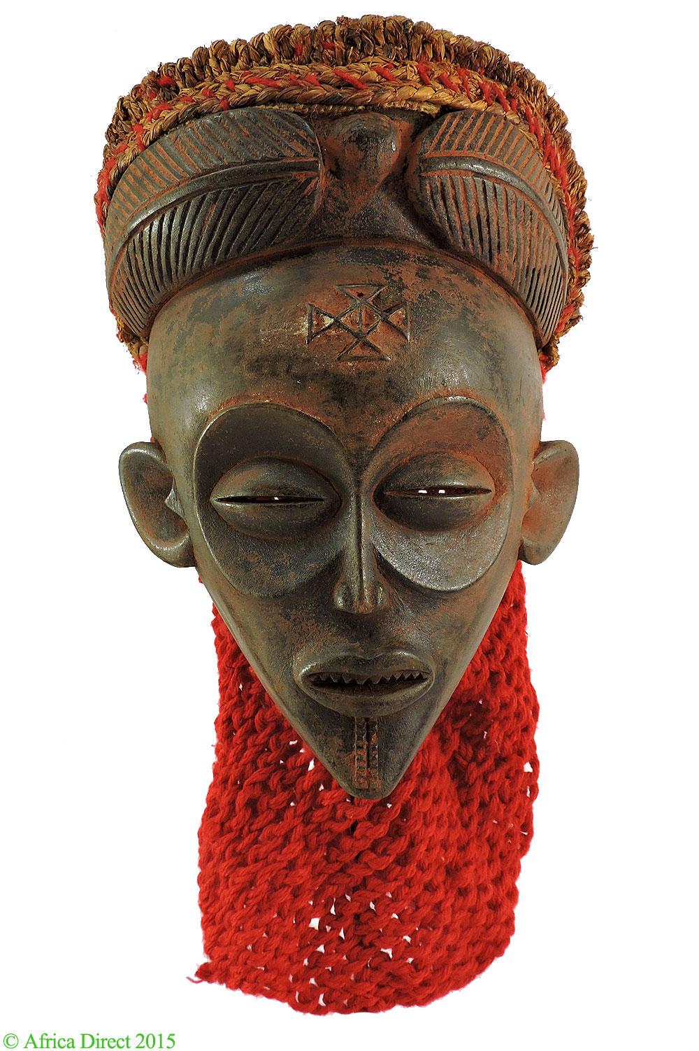 Chokwe Mask Mwana Pwo Angola Congo African Art  Chockwe
