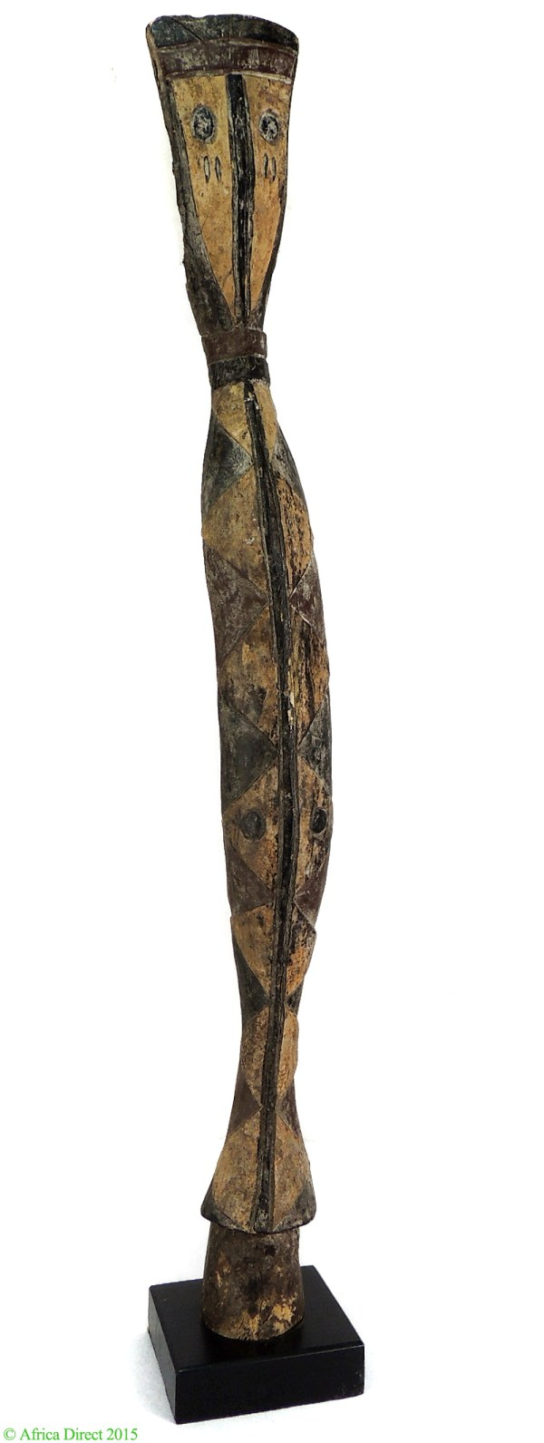 Baga Snake Sculpture With Stand Guinea African Art 39 - Masks