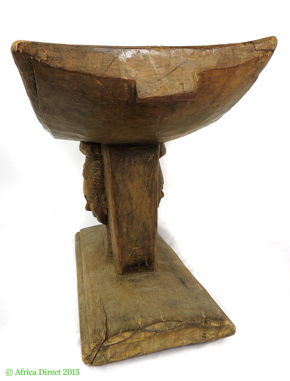 stool chair ghana fire pit table and chairs cover asante royal with face in base african art stools thrones artifacts