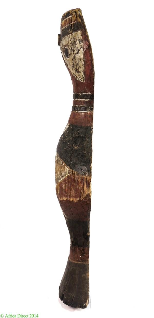 Baga Snake Bansonyi Sculpture Guinea African Art 43 - Wood Carvings