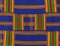 Kente Cloth Asante Handwoven Textile Ghana African Art ...
