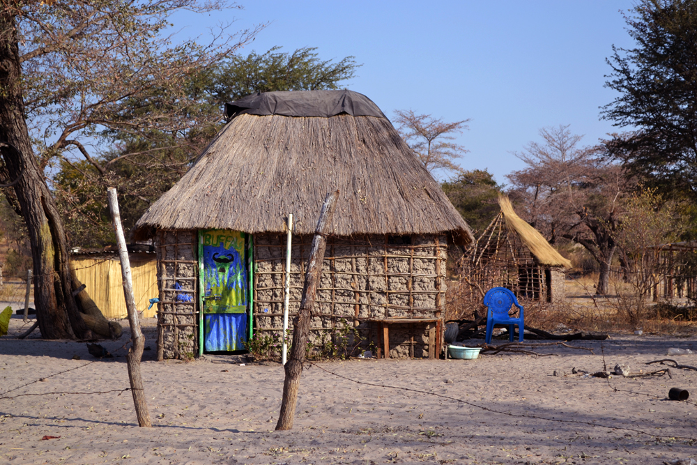Namibia the villagers were very creative people. Almost all the door houses were brightly painted (submitted by Gentiana Iacob)