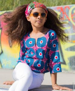 Mode Africaine Enfant Vêtements Africains Enfant En Pagne Wax