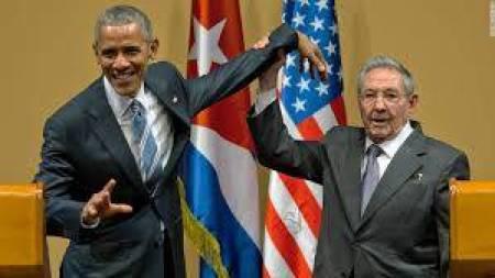 Raoul refuse la papatte d'Obama