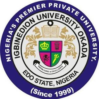 Igbinedion University Postgraduate Admission Form