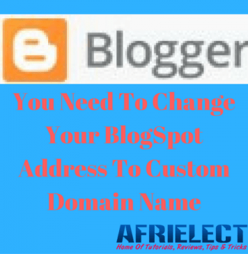 Let Me Change Your BlogSpot Address To Custom Domain Name