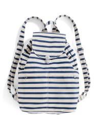 Baggu Sailor Stripe Backpack- Cuba Packing List- www.afriendafar.com #packinglist #cuba