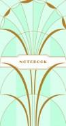 Art Deco Notebook