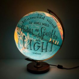 A Globe Lamp!