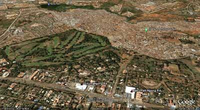 Kibera desde el espacio