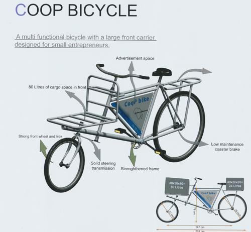 bicycletas, afrigadget