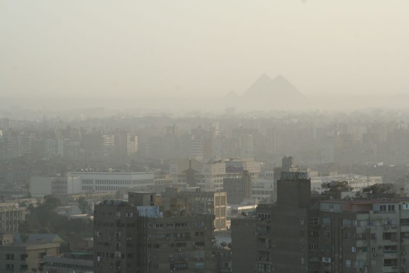 air pollution Egypt