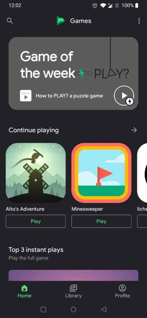 Google Play Jeux - gameplay mobile (2)