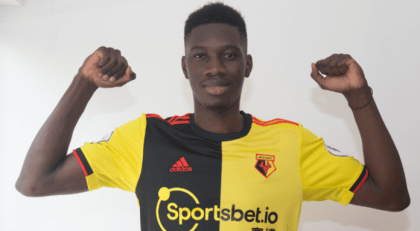 with Sarr; Watford gives a report (official)