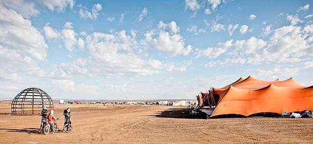 The Bedouin Erect