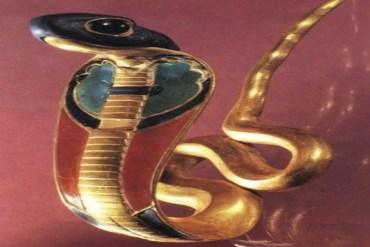 ancient egyptian Cobra symbol