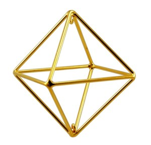 Sacred Geometry Octahedron Ancient Symbol