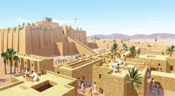 Sumerian Anunnaki Gods Abraham Enlil and second Pyramid War