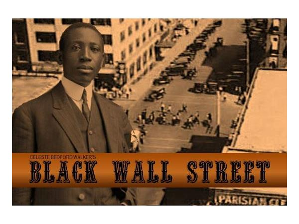 The Black Wall Street Story