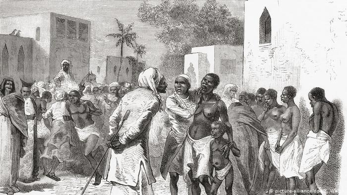The East African Arab Slave Trade