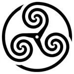 triskelion ancient celtic symbol