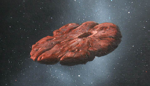 Oumuamua: The First Evidence Of Alien Life In Space?