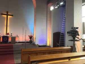 ZDF-Fernsehgottesdienst im Afrikanischen Zentrum Borgfelde