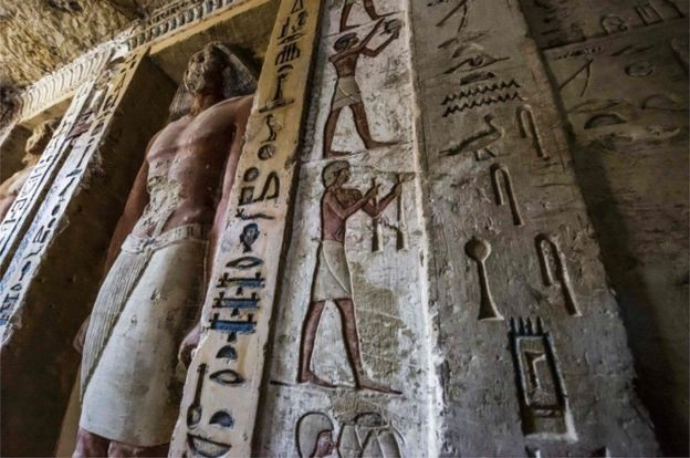 Egypte-tombe